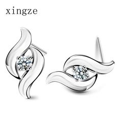Find More Stud Earrings Information about High quality silver plated jewelry tactfully retro fashion zircon earrings for women fine jewelry wholesale send girlfriend,High Quality jewelry mall,China jewelry stand earrings Suppliers, Cheap earrings filigree from Xingze Jewelry store on Aliexpress.com