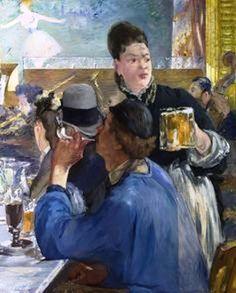 Édouard Manet - Corner of a Cafe Concert - 1878-1880