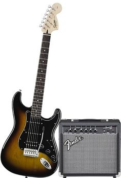 Fender Affinity Stratocaster Beginner Electric Guitar Package - Gifts for 15 year old boys