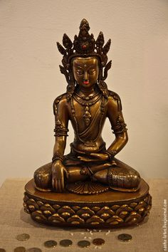 Buddha Akshobhya - from the Jewels of Buddhism exibition Indian Art, Buddhism, Mandala, Religion, Spirituality, Buddhist Art, Jewels, Statues, Insight