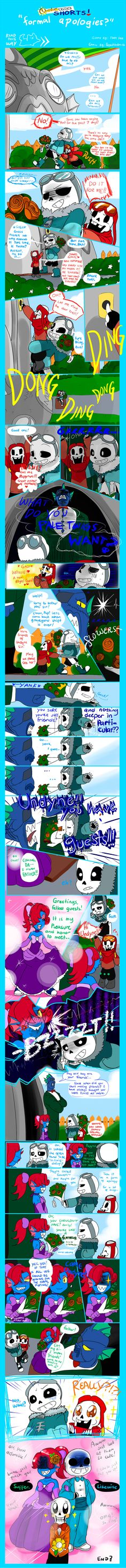 QuantumTale SHORTS: Formal Apologies? by perfectshadow06 on DeviantArt