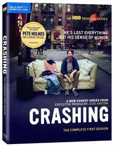 Coming to Bluray and DVD this week from the mind of Pete Holmes and HBO Home Entertainment is the comedy series CRASHING: The Complete First Season. http://moviemaven.homestead.com/services.html