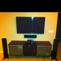 Living Room Home Theater 51 Samsung 7000 Series 3D HDTV Martin Logan Motion Speakers Polk Audio In Ceiling Vanishing 3 Way
