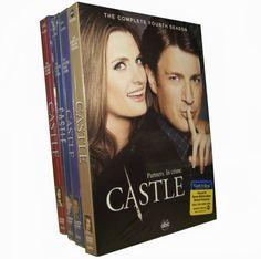Castle Seasons 1-4 DVD Box Set