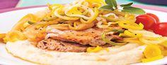 escalope de veau aux poireaux Spaghetti, Tacos, Meat, Chicken, Ethnic Recipes, Food, Veal Scallopini, Kitchens, Recipes