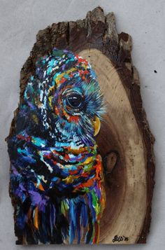 Owl paintings by Lindsey Dahl - The Owl Pages 2d Media, Visual, Owl Artwork, Creative, Painting, Art, Artsy, Creative Art, Owl Painting