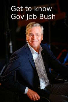 Swing State Voter: A Quick Look at Jeb Bush  #politics #GOP #elections #florida #jebbush