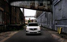 Lataa kuva Acura MDX, tie, 2018 autoja, japanilaiset autot, jakosuotimet, Acura
