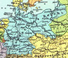 Das Deutsche Reich vor dem ersten Weltkrieg. The German Empire before the First World War