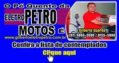 Eletro Petro Motos contempla mais de 35 clientes, em sorteio realizado no mês de desembro de 2014 em Afogas da Ingazeira
