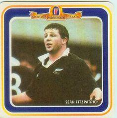 Sean Fitzpatrick, one of the Foster´s Sporting Greats, uno de los grandes deportistas para Fosters