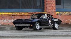 1963 Chevrolet Corvette Z06 Tanker Race Car - The Paul Reinhart Z06