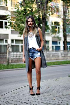 sf3 Hippie Boho, Parka, Denim Skirt, Layers, Hipster, Women's Shorts, Hippy, Skirts, Fashion