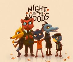 Night in the Woods - the perfect ghost story