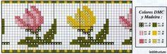 ponto-cruz-flores--500x400 78 gráficos de flores em ponto cruz para imprimir