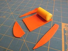 Picture of Making the Polymer Clay Cane Step the Orange Ring Egg Dye, Egg And I, Easy Projects, Easter Eggs, Polymer Clay, Orange, How To Make, Modeling Dough