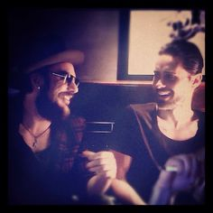 Jared Leto and Shannon Leto <3
