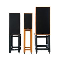 Hi-Fi Racks Limited - Fortis - Speaker Stands (For Spendor Speakers) Turntable Stylus, Brisbane, Melbourne, Sydney, Audio Rack, Speaker Stands, Solid Oak, Speakers
