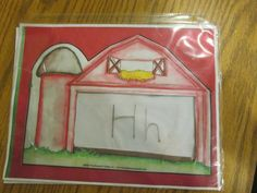E day or Farm day.  Great way to review letters and sounds.  Reusable too!  Amazing Action Alphabet.  Letters. Sounds. Reading. Preschool. Teach children and kids.