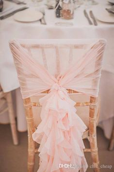 Brave Home Decoration Chair Cover Wedding Decoration Romantic Banquet Party Decor Chair Covers Decoration Gauze Table & Sofa Linens Chair Cover