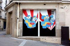 Sunday Street Art : Anonyme - square Bolivar - Paris 19  http://www.parisladouce.com/2017/07/sunday-street-art-anonyme-square.html
