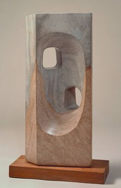 Abstract Sculpture, Sculpture Art, Abstract Art, Metal Sculptures, Barbara Hepworth, Stone Sculpture, Stone Carving, Action Painting, Art Design