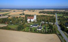 The Lutheran Church Ylistaro, South Ostrobohtnia province of Western Finland. - Etelä-Pohjanmaa