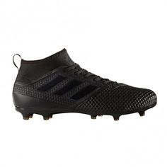 Adidas Ace 17.3 FG BY2197 voetbalschoenen core black utility black