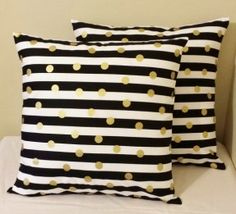 Black And White Striped Bedding - Foter