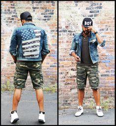 Boy Hat, H&M H & M Short, Ring Of Fire Jackt