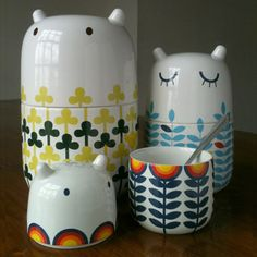 storage jars from Camila Prada - LOVE them!!