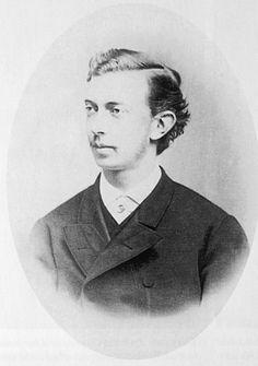 Tsarevich Nicholas Alexandrevich Romanov (1843-1865), son of Tsar Alexander II.