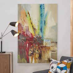 Found it at AllModern - Painting Print on Wrapped Canvas