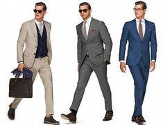This post will give you the basic knowledge for the perfect suit fit guide and help you express your unique style; including double breasted, three piece suit and single buttoned suit. Modern Suits, Modern Man, Best Mens Fashion, Suit Fashion, Work Casual, Men Casual, Suit Fit Guide, Formal Dresses For Men, Three Piece Suit