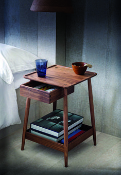 20 Contemporary Nightstand Inspirations For Modern Master Bedroom Modern Master Bedroom, Modern Bedroom Decor, Bedroom Ideas, Bedroom Images, Bedroom Styles, Master Bedrooms, Bedroom Designs, Classic Furniture, Contemporary Furniture