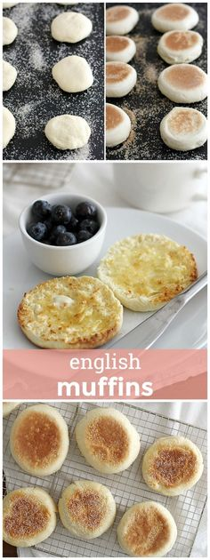 English Muffins -- All the nooks and crannies for butter, jam, etc. all made from scratch! girlversusdough.com @girlversusdough