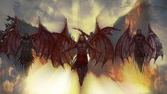Im Mittelalter glaubte man, die Dämonen könnten in den Menschen eindringen und die Besessenen dazu benutzen, in der Welt ihr Unwesen zu treiben. Beltane, Witchcraft, Bruges, Dark Mind, Fallen Angels, Witches, Ghosts, Middle Ages, People