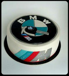 BMW cake Bmw Cake, Baby Bedroom, Cake Decorating, Lime, Goals, Cake Decorating Tutorials, Birthday Cakes, Bakken, Essen