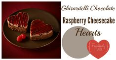 ghirardelli chocolate raspberry cheesecake hearts chocolate raspberry ...