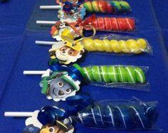 15 Paw Patrol Party Favor Lollipops