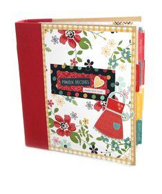 Simple Stories Homespun Recipe Sn@p! Binder Class Kit - Scrapbook.com