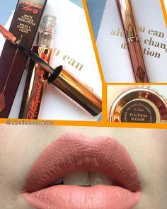 The Lipstick Database: Charlotte Tilbury Hollywood Lips liquid lipstick in Platinum Blonde - full review at @LipstickDatabase on Instagram