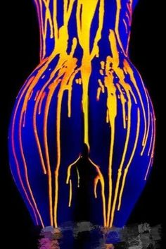 A selection of my award-winning neon erotic photographs created under ultraviolet light, also known as UV light or black light. Uv Photography, Shooting Photo, Art Graphique, Light Painting, Mellow Yellow, Woman Painting, Oeuvre D'art, Erotic Art, Female Art