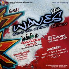 Waves 2012 Relive the Streets.  Nov 2-4 2012.  www.bits-waves.org
