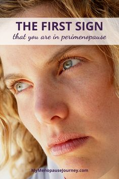 Signs of Perimenopause | Many of us do not understand perimenopause but allow me to share the first telltale signs that you are on your way. Click the link for the full article. | #SignsOfPerimenopause #PerimenopauseTips #PerimenopauseSymptoms Menopause Signs, Menopause Humor, Menopause Relief, Menopause Symptoms, Progesterone Cream, Bioidentical Hormones, Womens Wellness, Night Sweats, Alternative Therapies