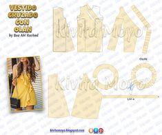 Dress Sewing Patterns, Sewing Patterns Free, Clothing Patterns, Fashion Sewing, Diy Fashion, Ideias Fashion, Sewing Pants, Sewing Clothes, Couture Sewing