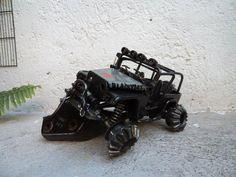 Werejo Trims Jeep Wrangler TJ Scrap Metal Sculpture by WerejoTrims, $1000.00