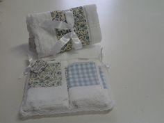 kit toalha de lavabo