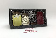 Click through to stampcandy.net for details! Stampin' Up!, Haunted Jars, InKing Royalty August Blog Hop, Jar of Haunts, Everyday Jars Framelits Dies, Jar of Love, Hardwood, Halloween Night Specialty DSP, Gold Foil, Window Sheets, Shimmery White, Very Vanilla, Cherry Cobbler, Basic Gray, Basic Black, Aqua Painter, Blender Pens, Sponge Daubers, Early Espresso, Smoky Slate, Old Olive, Stampin' Write Markers, Copper Stampin' Emboss Powder, Silicone Craft Sheets, Fine Tip Glue Pen
