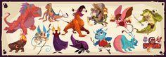 Dungan Character Designs 2 by PatrickSchoenmaker on DeviantArt